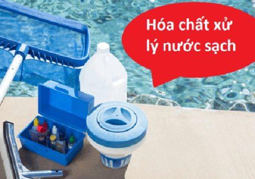 Sử dụng hóa chất là cách thức thông dụng để xử lý nước sinh hoạt hiện nay